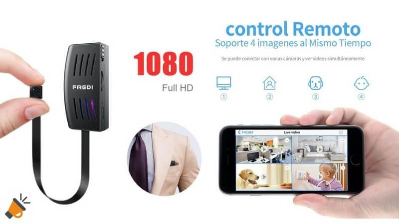 oferta Ca%CC%81mara espia Full HD Fredi IP barata SuperChollos