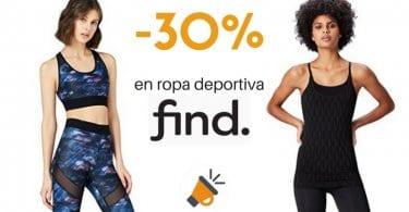 oferta rebajas descuentos ropa deportiva mujer find amazon barata SuperChollos