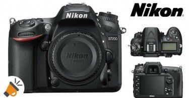oferta comprar camara fotografica Nikon D7200 SLR barata SuperChollos