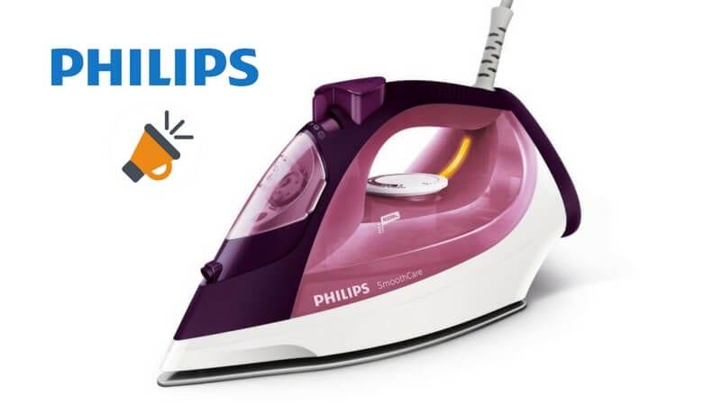 oferta comprar plancha de vapor barata philips GC358030 SuperChollos