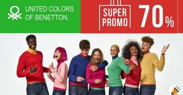 promocion United Colors of Benetton SuperChollos