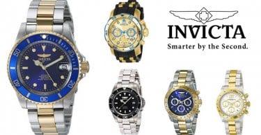 oferta relojes hombre mujer invicta baratos SuperChollos