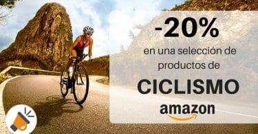 oferta 20 descuento productos articulos ciclismo amazon codigo descuento SuperChollos