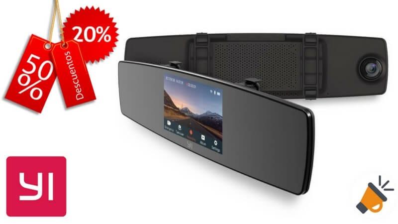 oferta YI Ca%CC%81mara de Coche 1080P HD barata chollo amazon SuperChollos