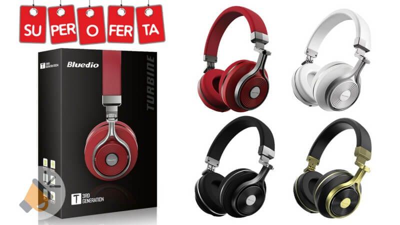 oferta bluedio t3 auriculares inalambricos baratos SuperChollos