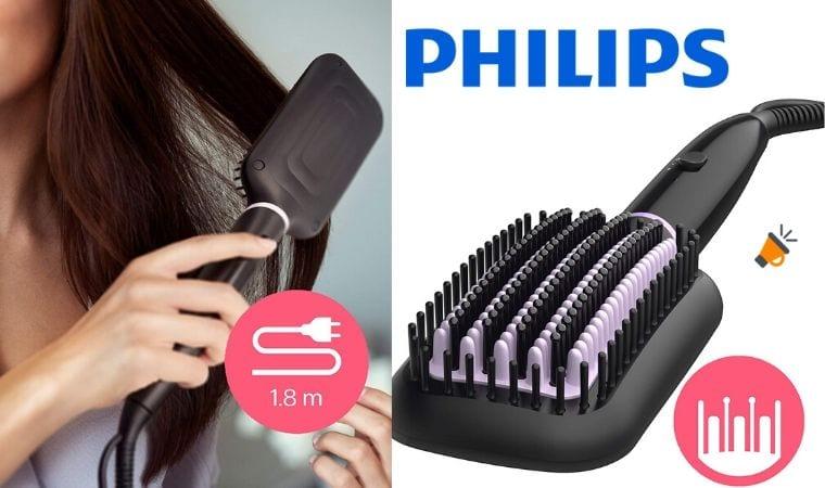 oferta Philips BHH88000 Cepillo alisador barato SuperChollos