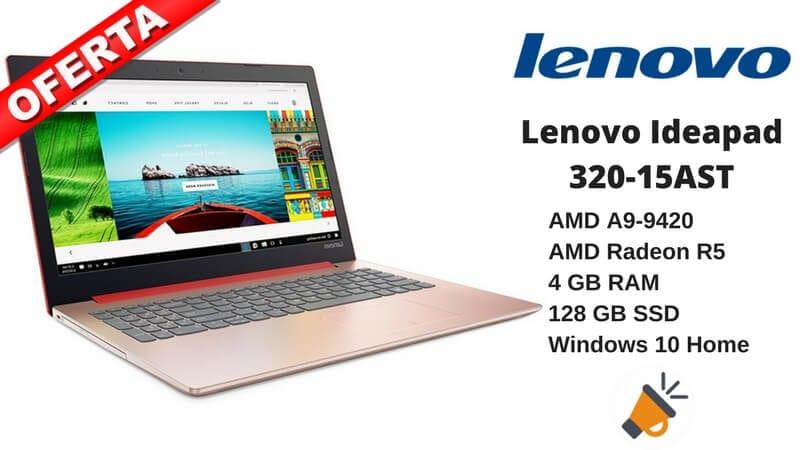 oferta Lenovo Ideapad 320 15AST barato chollo amazon SuperChollos