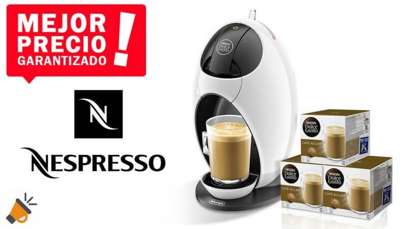 Cafetera DeLonghi Dolce Gusto Jovia + 48 cápsulas por solo 54€