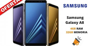 oferta Samsung Galaxy A8 2018 barato chollo amazon SuperChollos