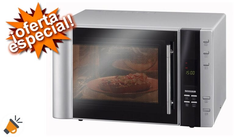 oferta Severin MW 7803 Horno microondas barato chollo amazon SuperChollos