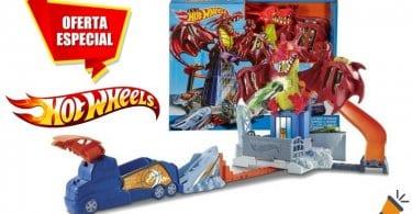 oferta Hot Wheels Juego creativo Dragon Attack barato SuperChollos