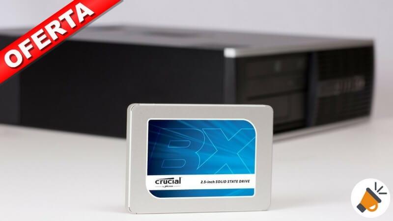 oferta Crucial CT120BX300SSD1 BX300 Disco duro so%CC%81lido barato SuperChollos