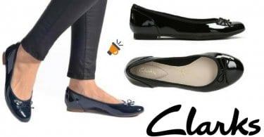 Bailarinas Clarks Couture Bloom color negro manoletinas mujer amazon baratas SuperChollos