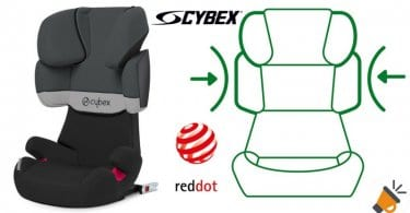 oferta Sillita de coche para nin%CC%83%40s Cybex Solution X Fix chollo amazon SuperChollos