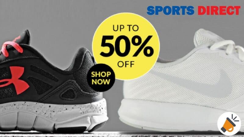 50 Descuento en Zapatillas en SportsDirect SuperChollos