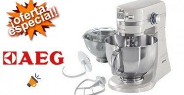 oferta AEG KM4100 Robot de cocina amasador barato SuperChollos