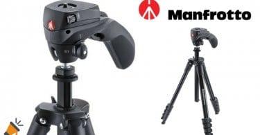 oferta Manfrotto Compact Action Tri%CC%81pode completo barato chollo amazon SuperChollos