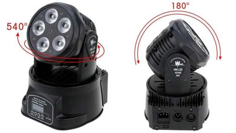 oferta comprar lixada DMX512 foco escenario led barato SuperChollos
