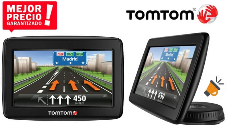 oferta TomTom START 20 navegador gps barato chollo amazon SuperChollos