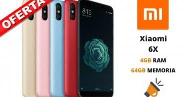 oferta Xiaomi 6X barato SuperChollos
