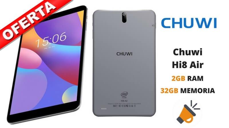 oferta tablet Chuwi Hi8 Air barata1 SuperChollos