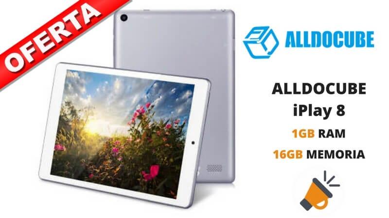 oferta tablet ALLDOCUBE iPlay 8 barata SuperChollos