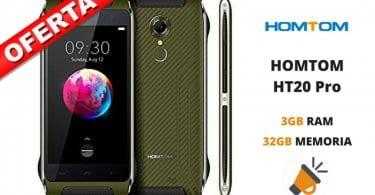 oferta HOMTOM HT20 Pro barato SuperChollos