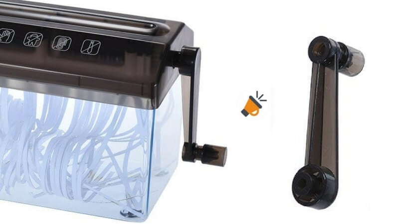trituradora manual papel documentos amazon barata SuperChollos