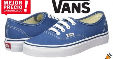 oferta Zapatillas Vans Authentic unisex baratas chollo amazon SuperChollos
