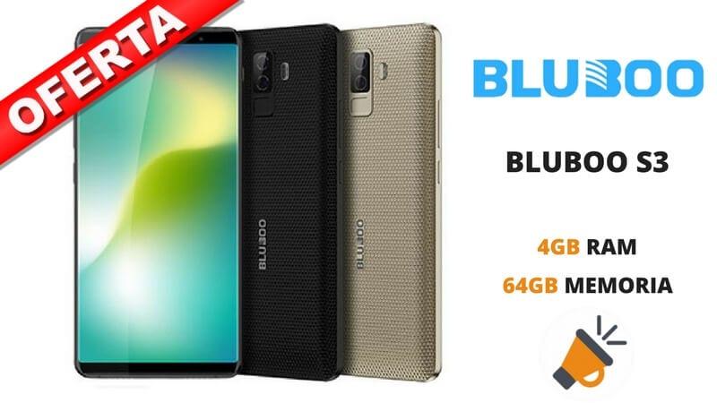 oferta BLUBOO S3 barato SuperChollos