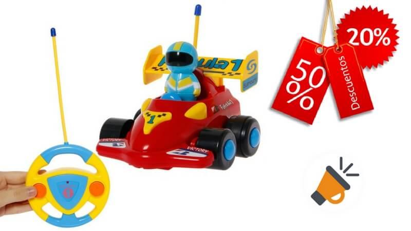 oferta Coche de Carrera Control Remoto Juguete barato SuperChollos