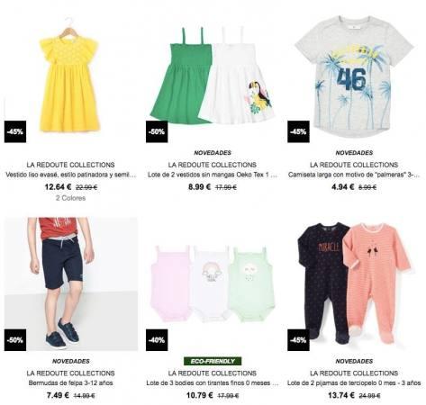 ropa nin%CC%83o barata semana de la madre la redoute SuperChollos