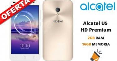 oferta Alcatel U5 HD Premium barato SuperChollos