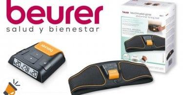 oferta Beurer EM37 Electroestimulador EMS Cinturo%CC%81n Abdominal barato SuperChollos