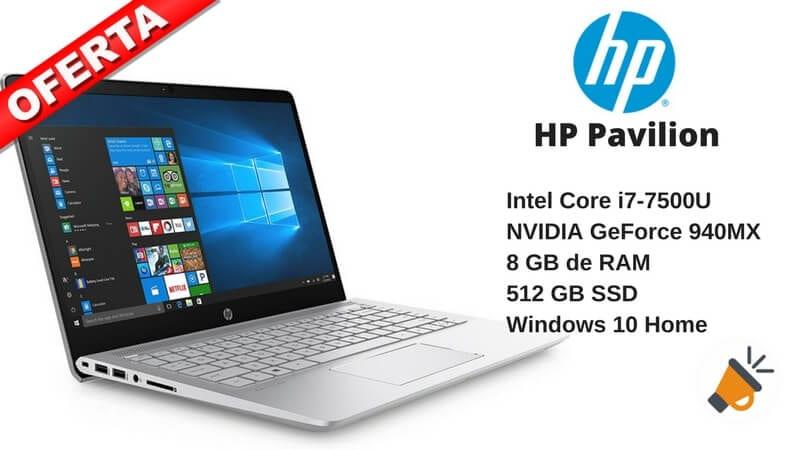 oferta HP Pavilion Ordenador porta%CC%81til barato SuperChollos