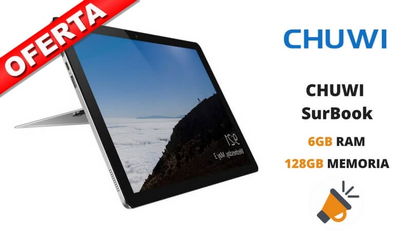 oferta tablet CHUWI SurBook barata SuperChollos