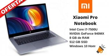 oferta xiaomi pro notebook barato banggood SuperChollos