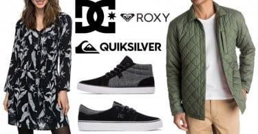 oferta Quiksilver DC Shoes y Roxy barato SuperChollos
