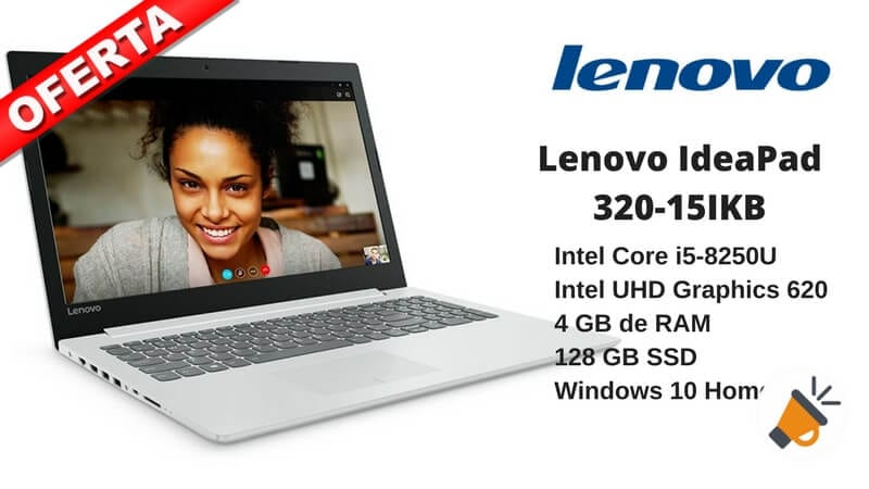 oferta Lenovo IdeaPad 320 15IKB barato chollo amazon SuperChollos