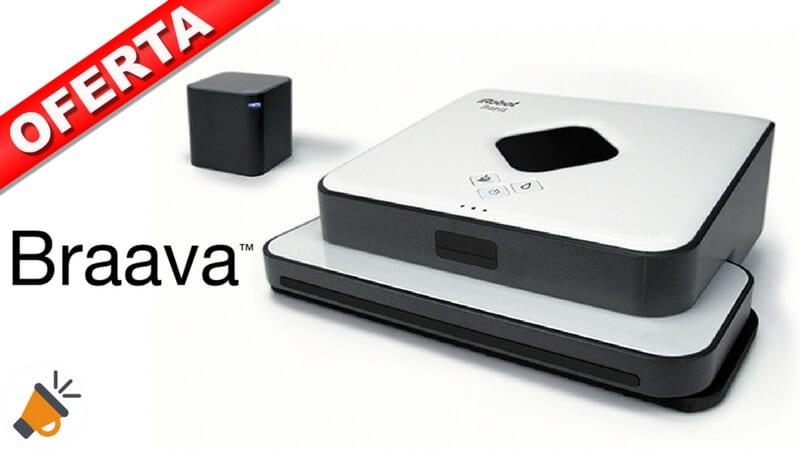 oferta iRobot Braava 390t barato SuperChollos