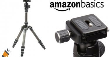 oferta AmazonBasics Tri%CC%81pode de viaje barato chollo amazon SuperChollos