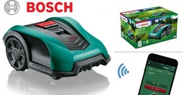 oferta cortacesped Bosch Indego 350 Connect barato SuperChollos