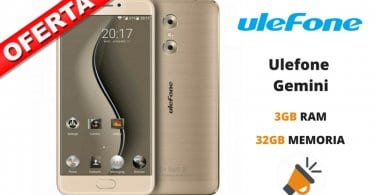 oferta Ulefone Gemini barato SuperChollos