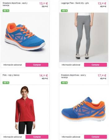 ropa mujer2 barata kappa SuperChollos