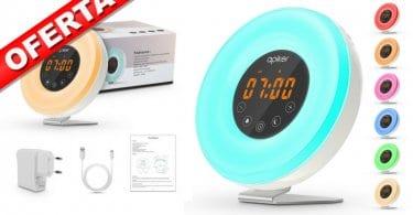 oferta Radio despertador Wake Up Light barato SuperChollos