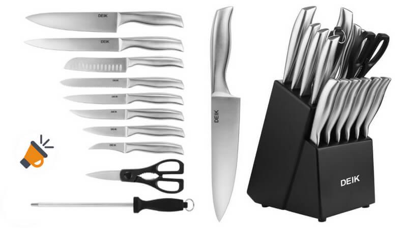 OFERTA Set de cuchillos Deik BARATO SuperChollos