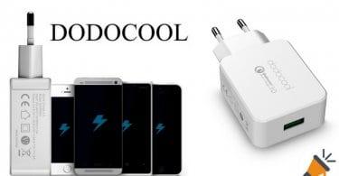 cargador dodocool Quick Charge 3.0 barato SuperChollos