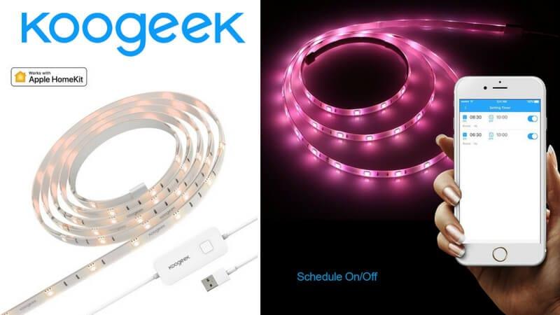Koogeek Tira LED De Iluminacio%CC%81n barato SuperChollos