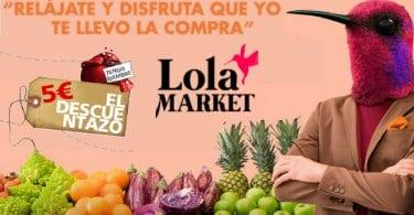 cupon descuento lola market SuperChollos