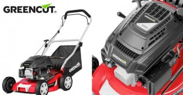 oferta Cortacesped traccion manual greencut barato SuperChollos
